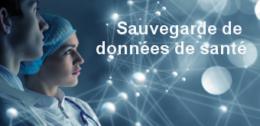 web conférence sauvegarde de données de santé
