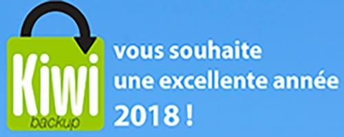 Toute l'équipe de Kiwi Santé vous souhaite une excellente année 2018 !